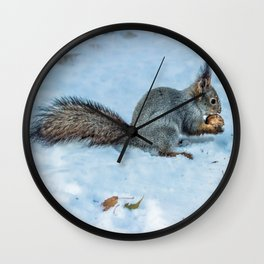 Tasty nut Wall Clock