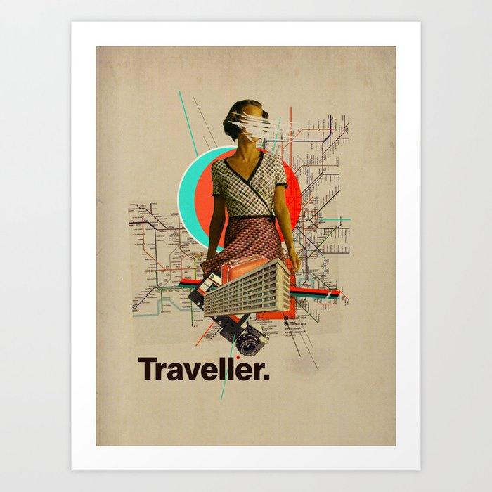 Traveller Kunstdrucke
