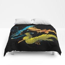 The Three Legendary Birds Comforters