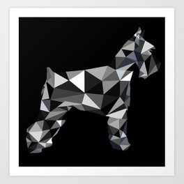 poli schnauzer Art Print