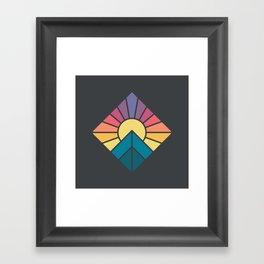 Sun it Rises Framed Art Print