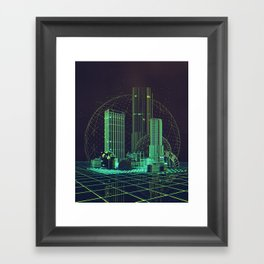 OLD TERRITORY (everyday 04.08.18) Framed Art Print