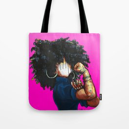 Naturally the Riveter PINK  Tote Bag