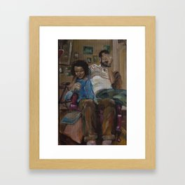 cardboard boys ii Framed Art Print
