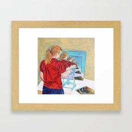 Meta Framed Art Print
