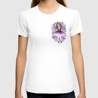 gothic T-shirts featuring Gothic Lolita by SilverChaim