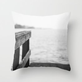 The Dock Throw Pillow