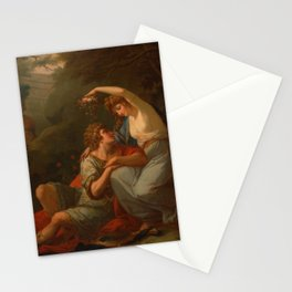 Angelica Kauffman - Portrait of Lady Hervey (1770) Stationery Cards