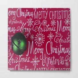 Christmas decorations retro Metal Print