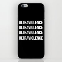 ultraviolence iPhone & iPod Skins featuring ultraviolence by Sofi G.