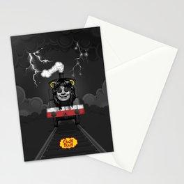 CRAZY TRAIN Stationery Cards