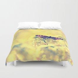 Sunshine and Butterflies Duvet Cover
