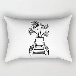 Mood plants Rectangular Pillow