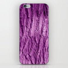 purple tree bark II iPhone & iPod Skin
