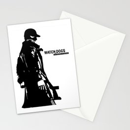 Watch dogs (aiden pearce) Stationery Cards