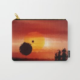 Fantastic red horizon. Carry-All Pouch