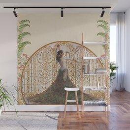 Ornate Art Deco Wall Mural