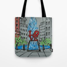 Little Love Park Sketch Tote Bag
