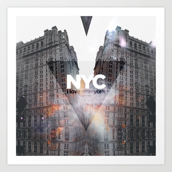 NYC - I Love New York 5 Art Print