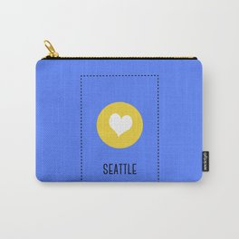 I Love Seattle Carry-All Pouch