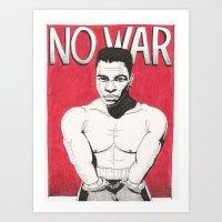 No War Art Print