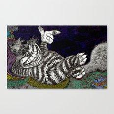 Cheshire Cat HiDef Canvas Print