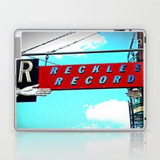 Reckless Records ~ chicago sign Laptop & iPad Skin