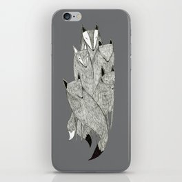 Foxes & Badgers iPhone Skin
