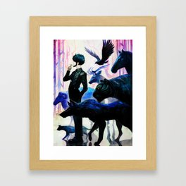 Hero Adventures Dreams Fantasy Illustration Art Framed Art Print