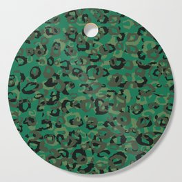 Emerald Leopard Cutting Board