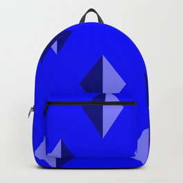 Geometry No. 2 -- Blue Backpack