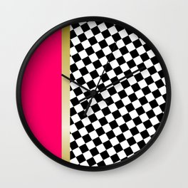 grrls square Wall Clock