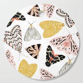 Moth's Diverse Beauty Pattern Cutting Board