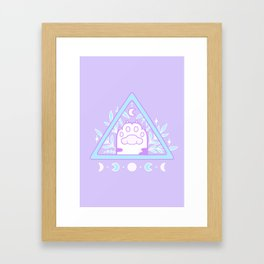 Witchy Cat Paw 01 Framed Art Print