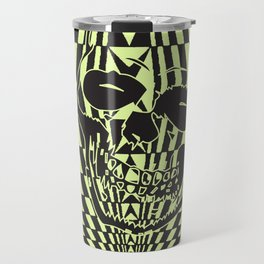 Shredding Skull Travel Mug