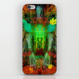 The Cooling Spirit of Autumn iPhone Skin
