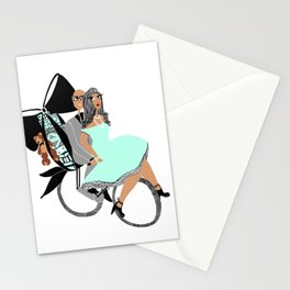 Holiday Ride Stationery Cards