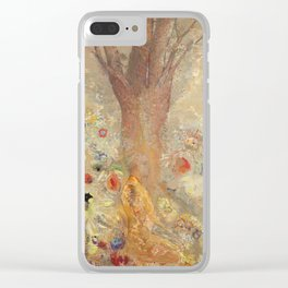 Odilon Redon - Buddah In His Youth Clear iPhone Case