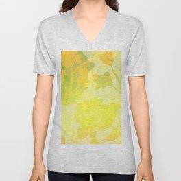 Sassy Sedge - warm colors Unisex V-Neck