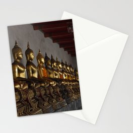 Buddha in a Row Stationery Cards