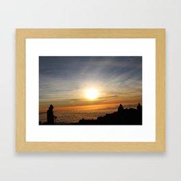 Triumph at dawn Framed Art Print