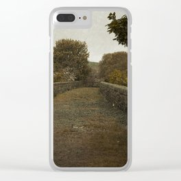 Road to the Farm Clear iPhone Case