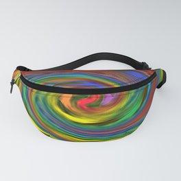 Rainbow Swirl Fanny Pack