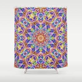 Mehndi Ethnic Style G459 Shower Curtain