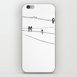 swallows iPhone Skin