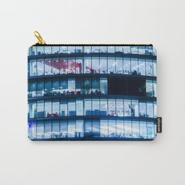 Offices at night Carry-All Pouch