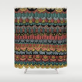 Ink Pattern no.1 Shower Curtain