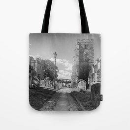 All Saints Church and Collegiate Buildings Tote Bag