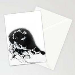old ass conan Stationery Cards