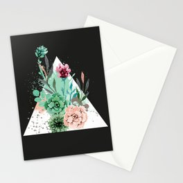 Suculetas Zen Stationery Cards
